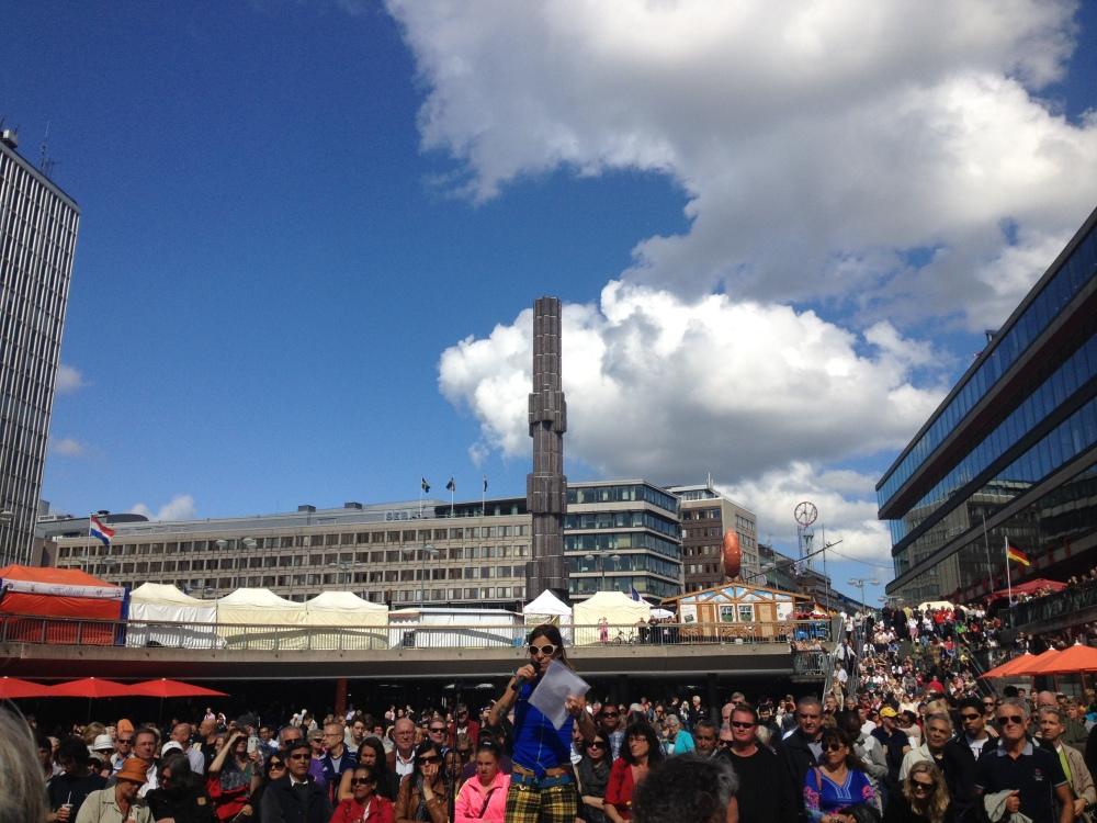 """""""Kör för alla!"""" – VT 2012 – Termin 7 – Konsert på Sergels Torg – 6 juni  (5/5)"""