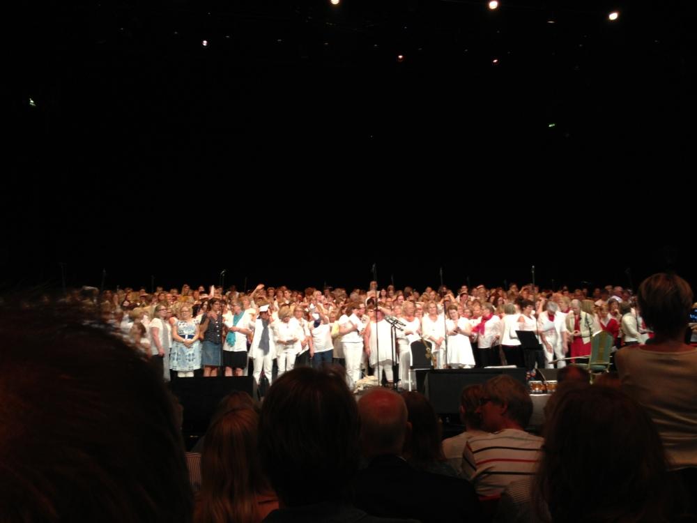 """""""Kör för alla!"""" – VT 2013 – Termin 9 – Konsert på Cirkus – 19 maj – Arton fotografier  (1/6)"""
