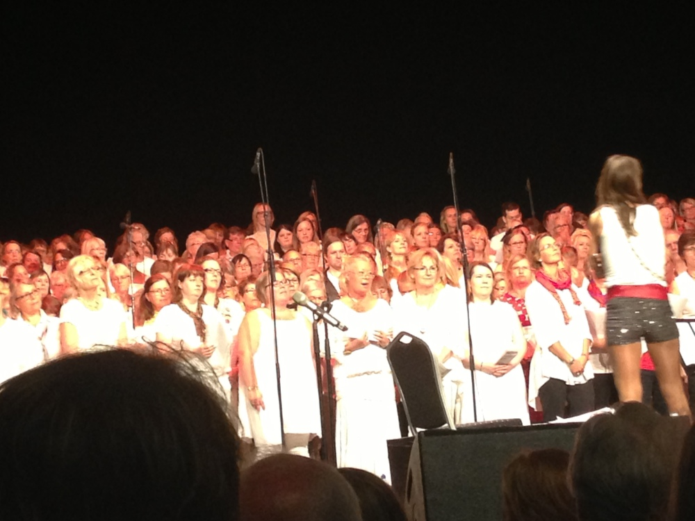 """""""Kör för alla!"""" – VT 2013 – Termin 9 – Konsert på Cirkus – 19 maj – Arton fotografier  (4/6)"""