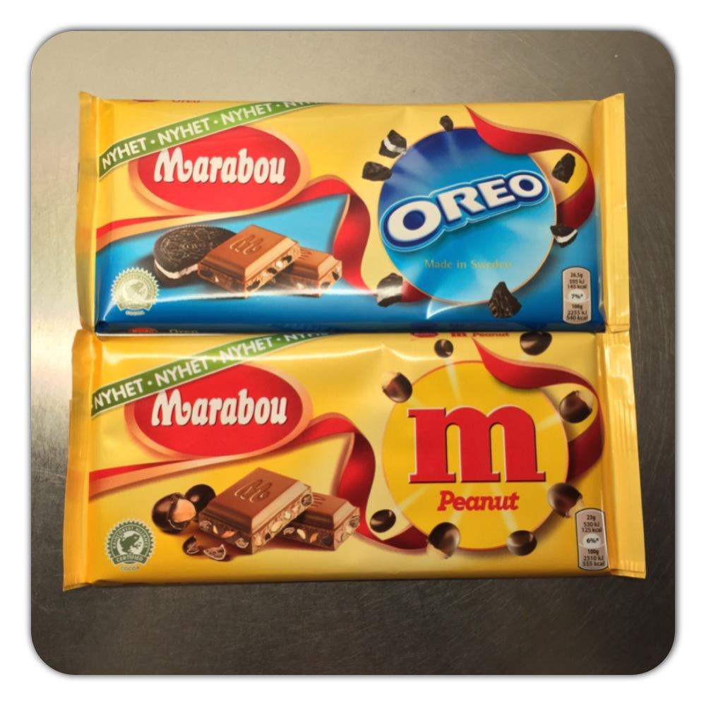 Nytt chokladtest i dag! Förra veckan var det Salta Mandlar och Filled Coconut! I dag blir det dom här två! 😉😜